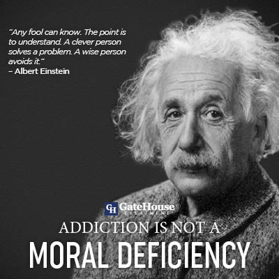 Addiction is not a Moral Deficiency 1