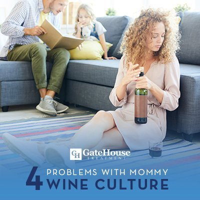 4 problems with mommy wine culture