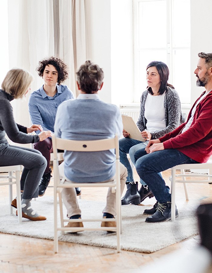 PHP Addiction Treatment Group Therapy