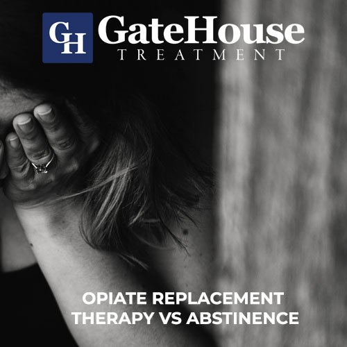 Opiate Replacement Therapy vs Abstinence 1